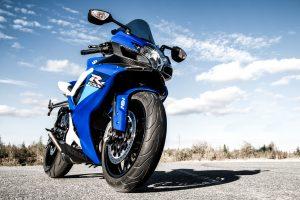 Suzuki on suosittu moottoripyörä